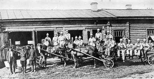 Первая пожарная служба