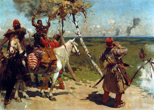 Пограничники древней Руси