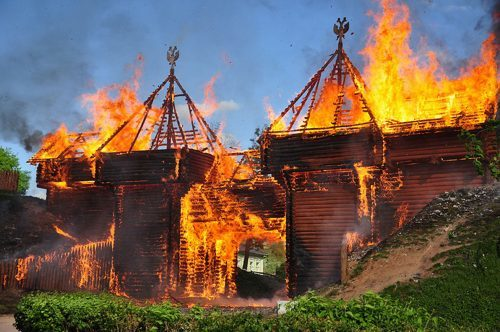 Пожар на Руси