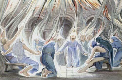 Святой Дух сошел на апостолов