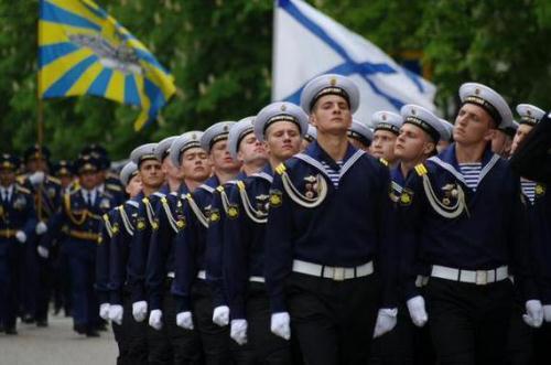 Празднование дня моряка