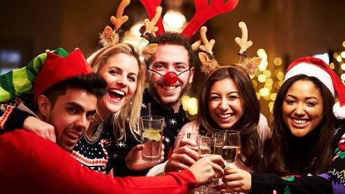 Вечеринка в новогоднюю ночь
