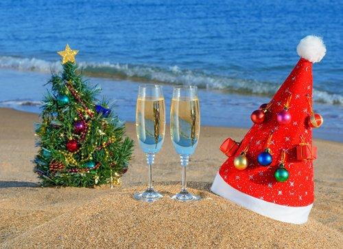 Пляжный Новый год