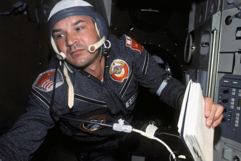 Рисунок 2. Кубасов Валерий Николаевич впервые провел сварку в космосе