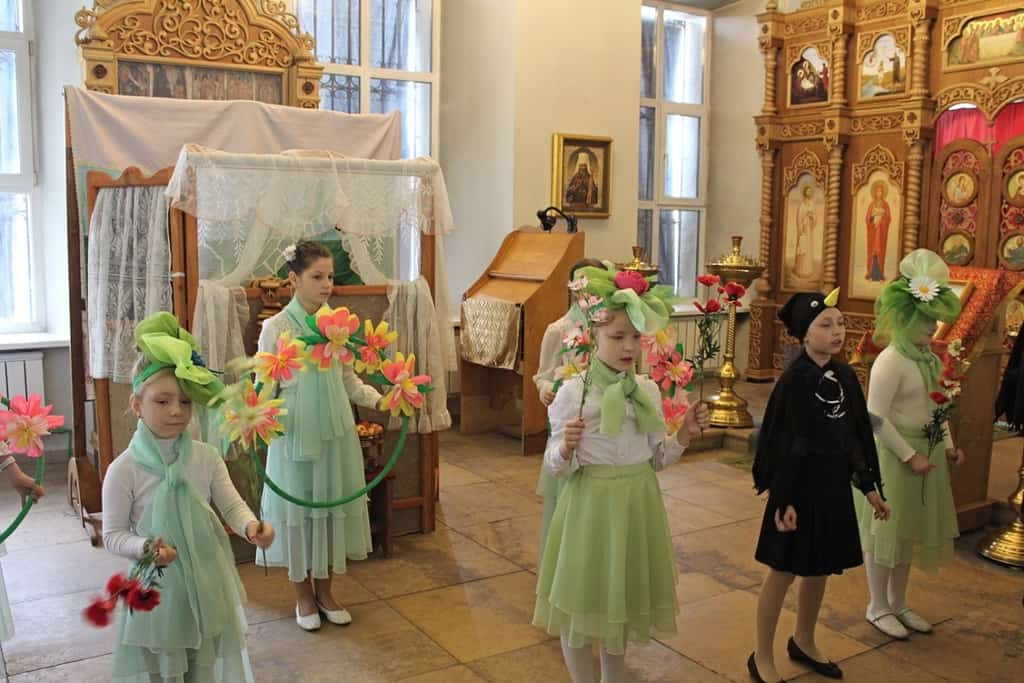 Рисунок 1. Иоанно-Богословский монастырь, празднование