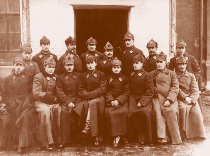 Рисунок 2. Конвойные войска НКВД