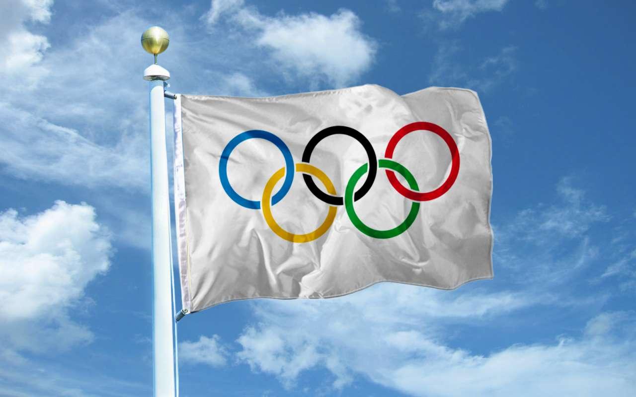 Рис. 1. Флаг Олимпиады