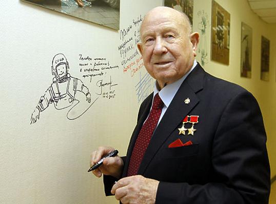 Рисунок 5. Леонов – знаменитый космонавт