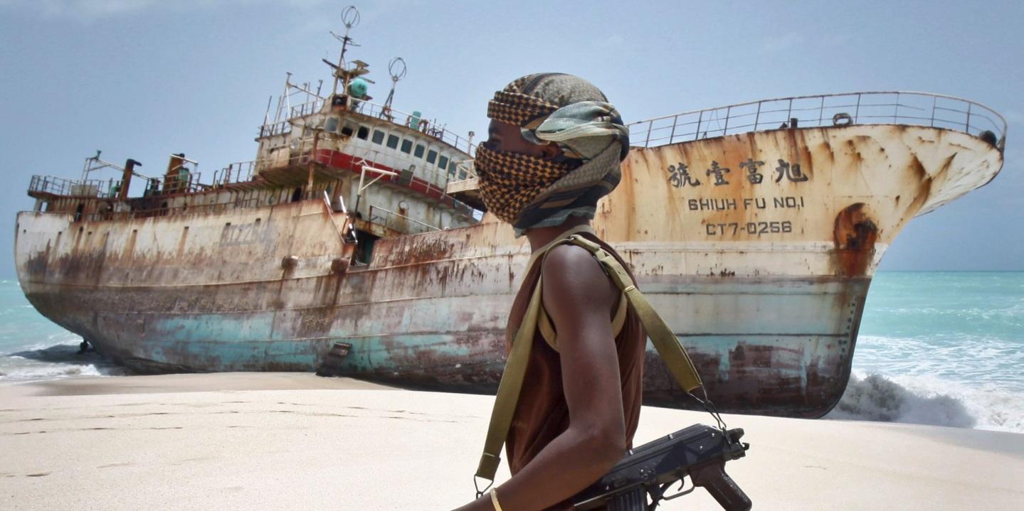 Рисунок 1. Пираты до сих пор являются угрозой № 1 для торговых судов