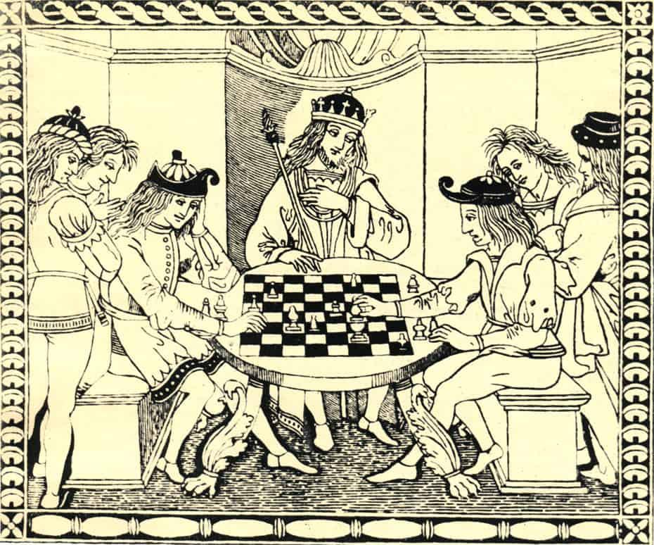 Рис. 3. Миниатюра из средневековой рукописи