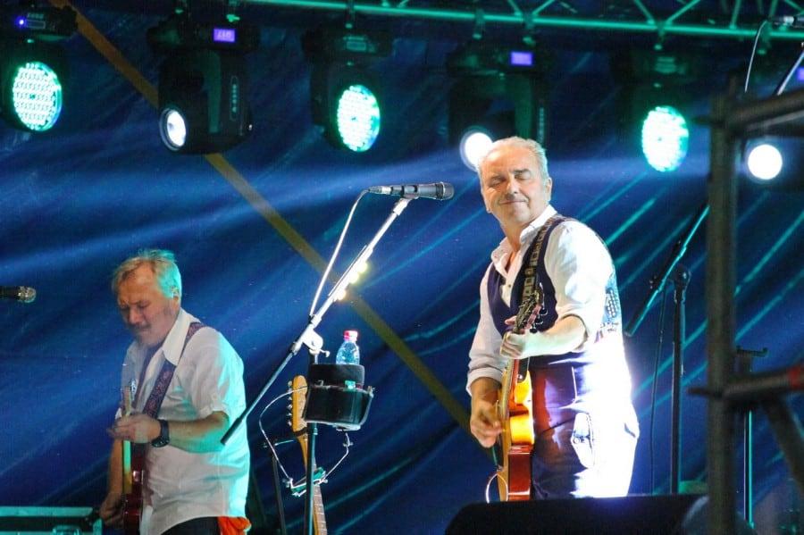 Рис. 3. Владимир Шахрин на концерте в честь Дня города Екатеринбург (2017)