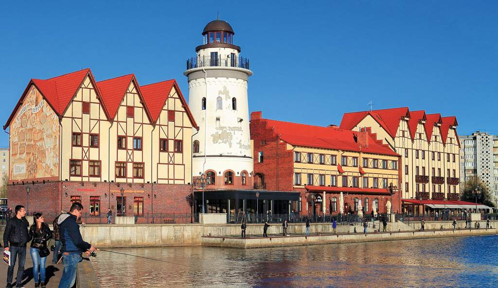 Рисунок 3. Рыбная деревня – реконструированный немецкий квартал в Калининграде