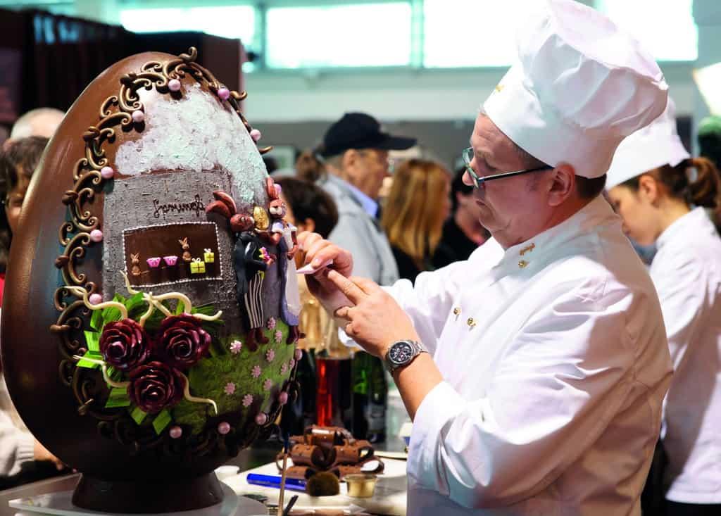 Рисунок 1. Фестиваль шоколада в Москве