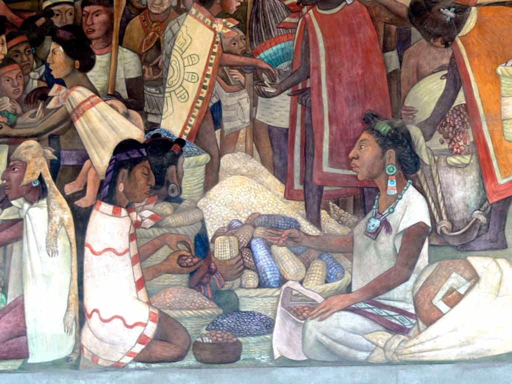Рисунок 2. Открытие шоколада приписывают индейским племенам Южной Америки – майя и ацтекам