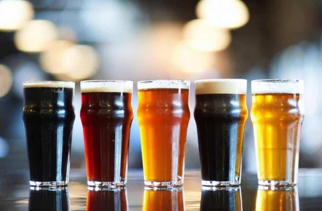 Рисунок 2. Одна из современных классификаций пива различает сорта по цвету