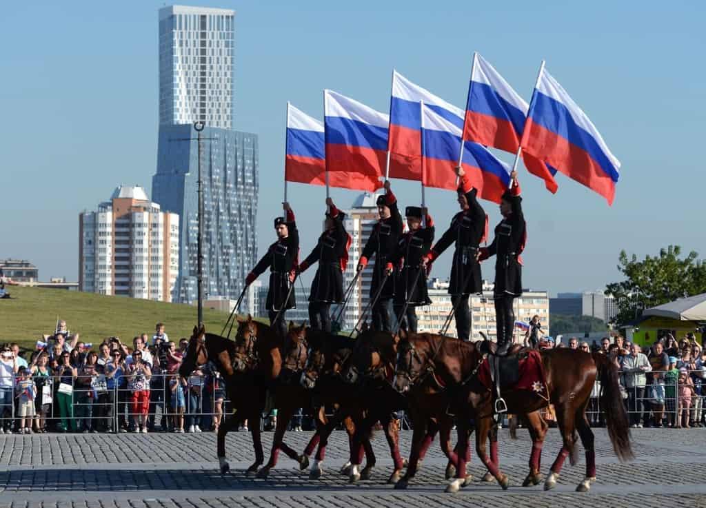 Рисунок 1. День государственного флага в Москве
