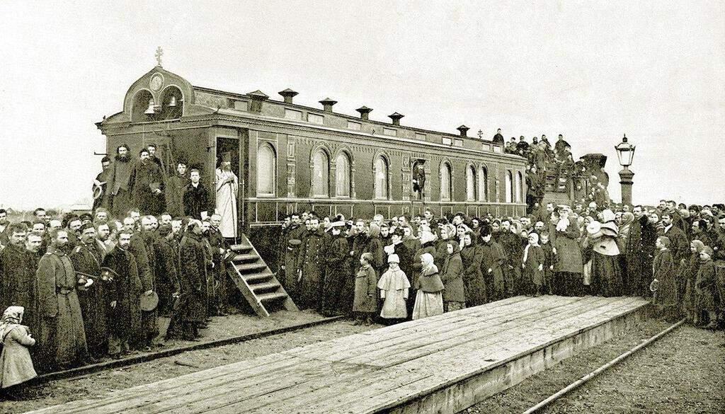 Рисунок 2. Первая железная дорога в России