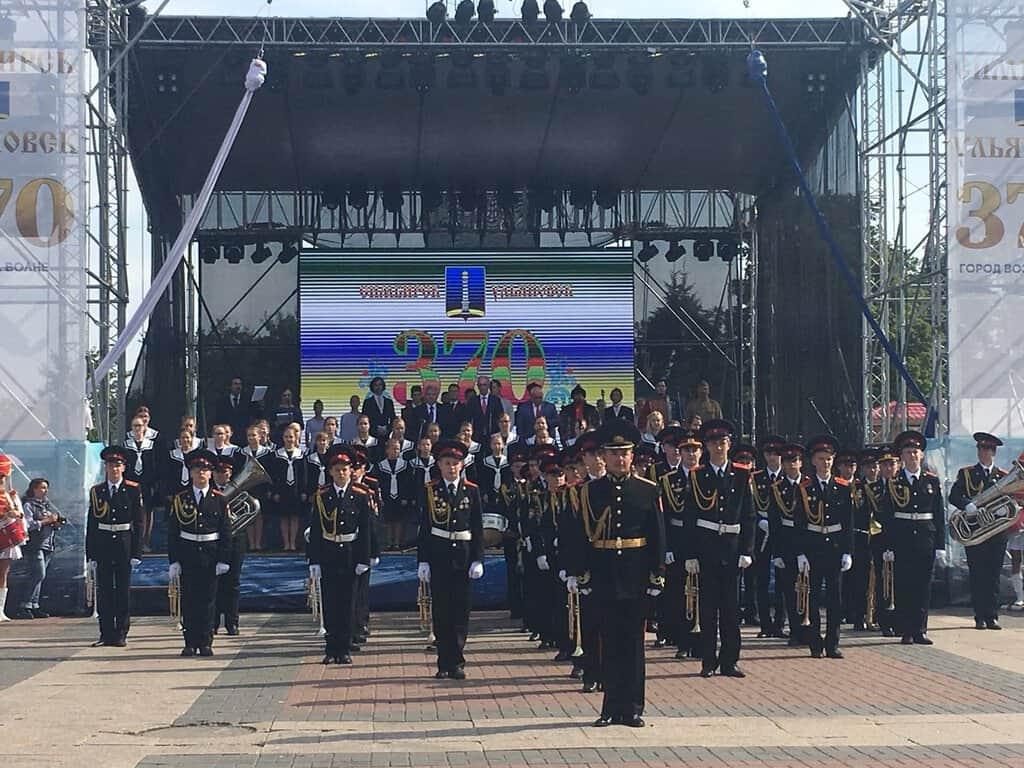 Рисунок 1. Выступление хора на дне города Ульяновска в 2018 году