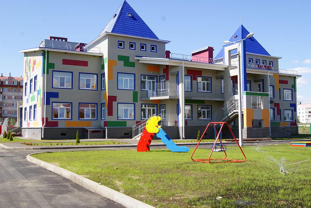 Рис. 1. Один из новых детских садов в Москве
