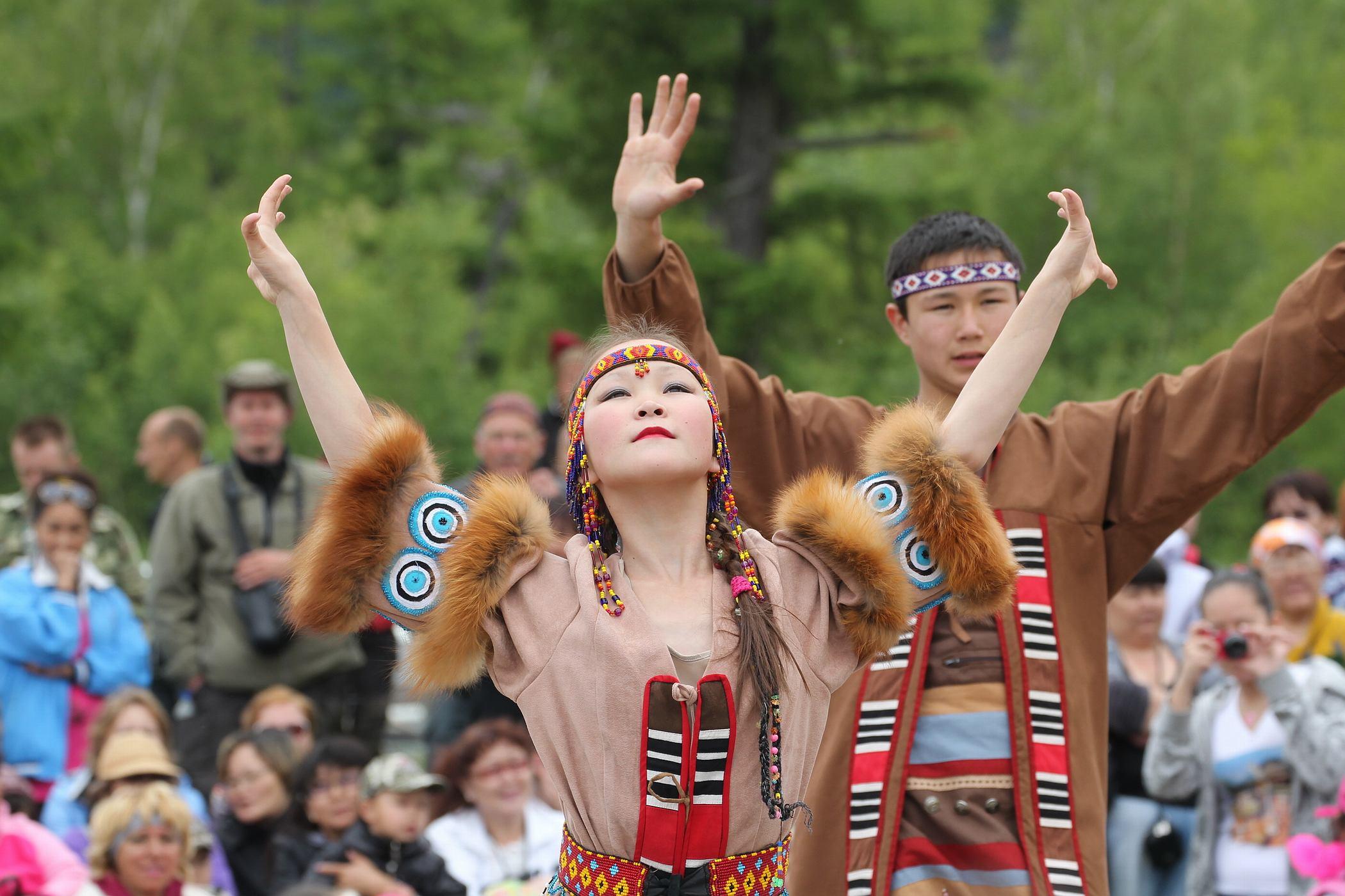 Рисунок 1. Фестиваль коренных народов в Камчатском крае