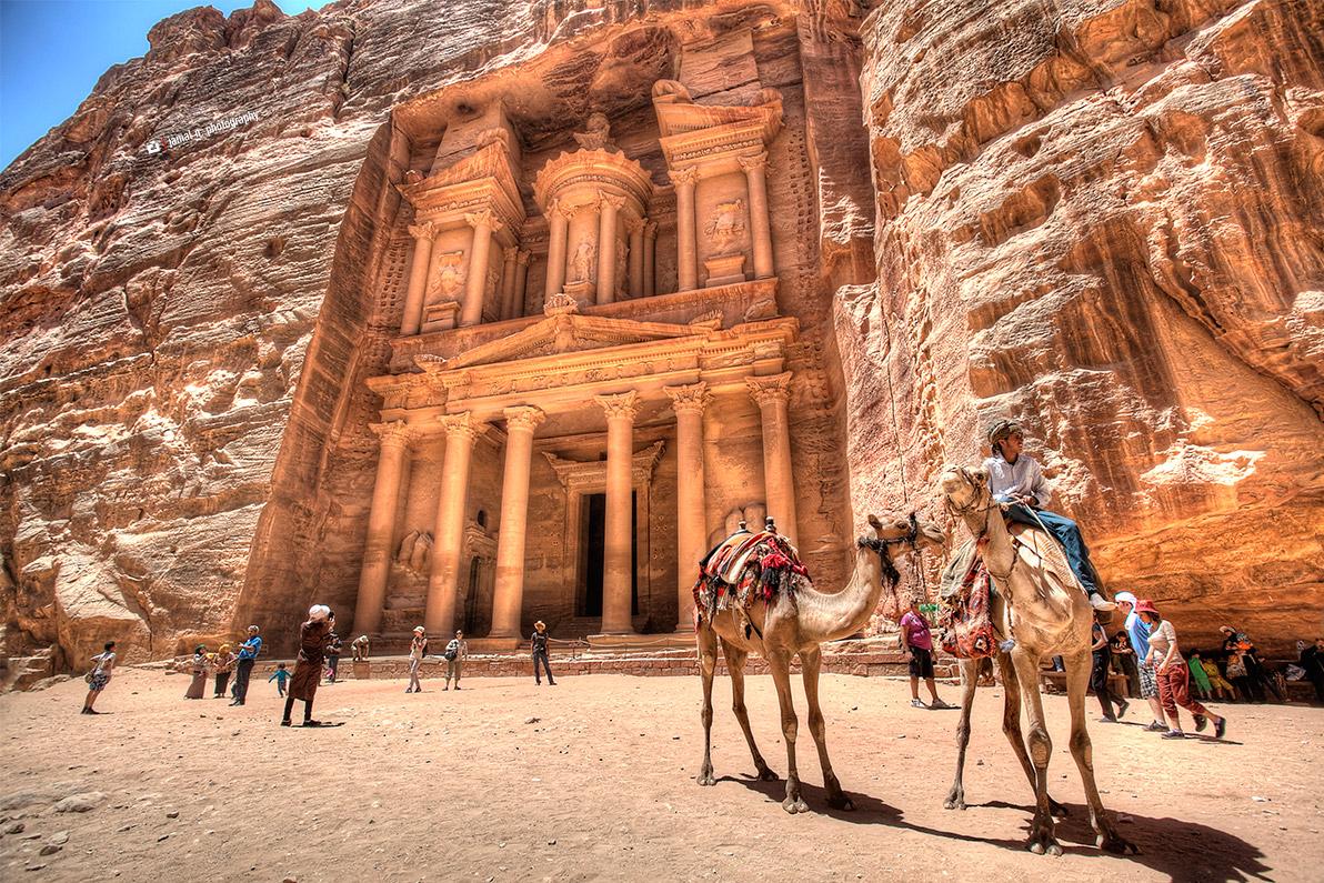 Рисунок 2. Петра – древняя столица Набатейского царства, открытая Иоганном Буркхардтом