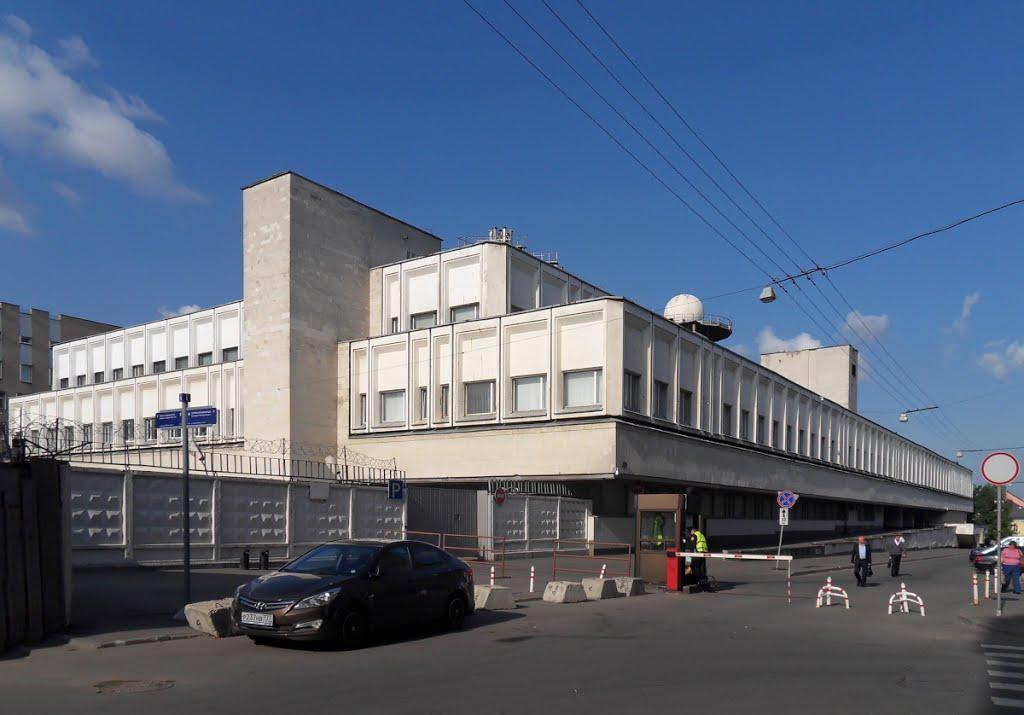 Рис. 1. Здание Службы спецсвязи ФСО