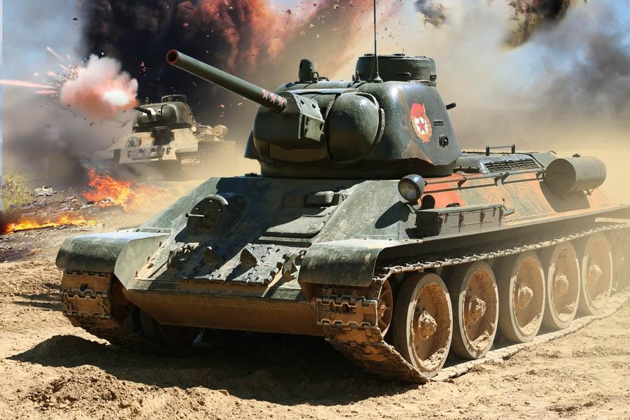 Рис. 2. Легендарный Т-34