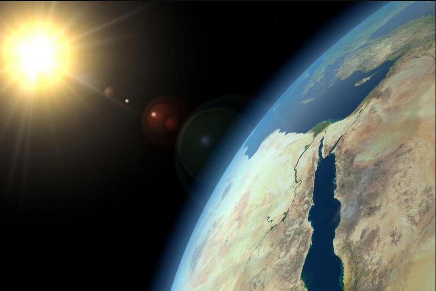 Рис. 2. Озоновый слой – надёжный щит Земли